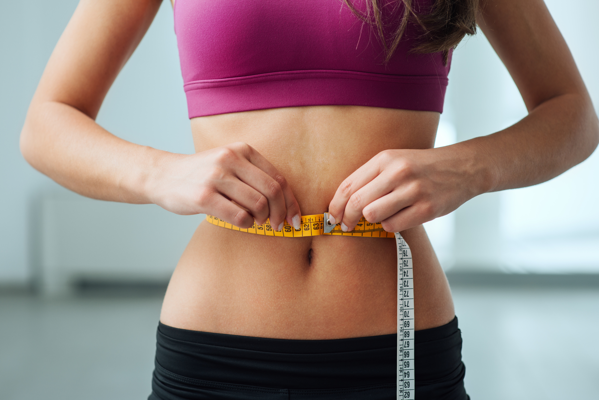 Kvinde er på slankekur