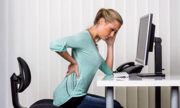 Kontorarbejde og rygsmerter